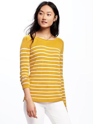 Classic Striped Crew-Neck Sweater for Women $26.94 thestylecure.com