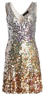 Jenny Packham Beaded Cocktail Dress