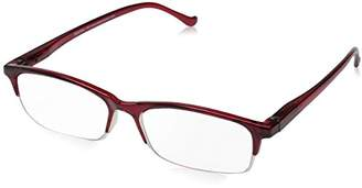 Peepers Ruby and Crystal Rectangle Reading Glasses