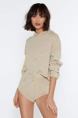 Nasty Gal Warm Heart Sweater and Shorts Set