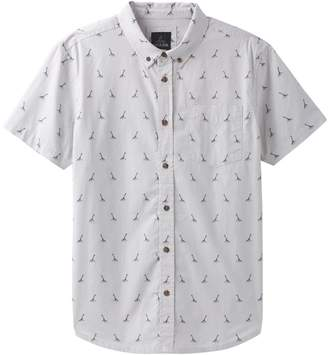 Prana Broderick Embroidery Short-Sleeve Shirt - Men's