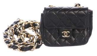 Chanel Chain-Link Belt Bag