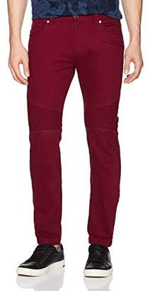 Armani Exchange A|X Men's Stretch Colored Moto Denim