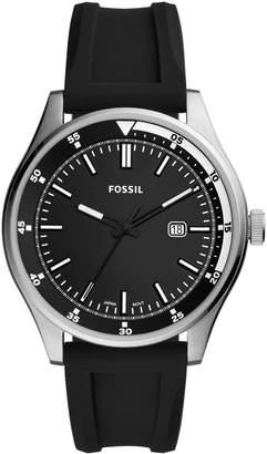Fossil Belmar 3-Hand Silicone Watch