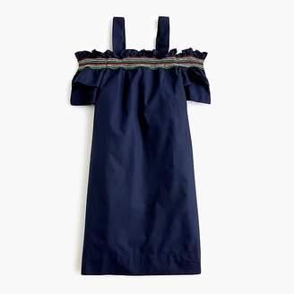 J.Crew Girls' rainbow-smocked dress