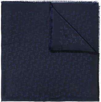 Bally monorgam-print scarf