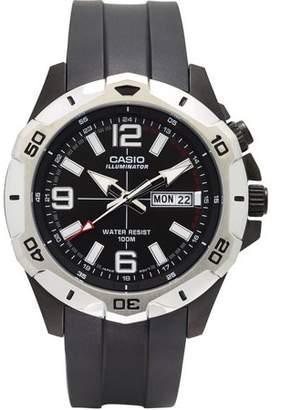 Casio Men's Dive Style Analog Watch, Black Dial, MTD1082-1AVCF