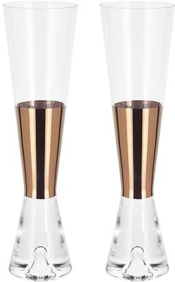 Tom Dixon Tank Champagne Glasses - Set of 2