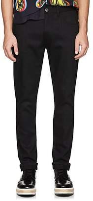 Prada Men's Side-Striped Skinny Jeans