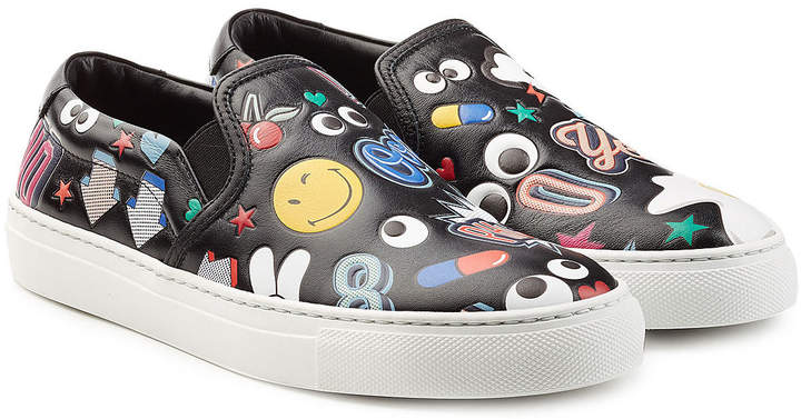 Anya Hindmarch Leather All Over Sticker Skater