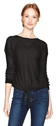 Lucky Brand Women's Tie Front Sweater
