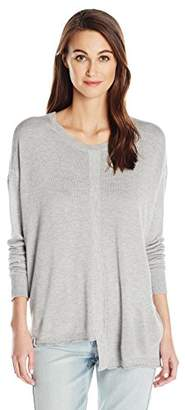 Wilt Women's Slouchy Shifted Tie Back Sweater