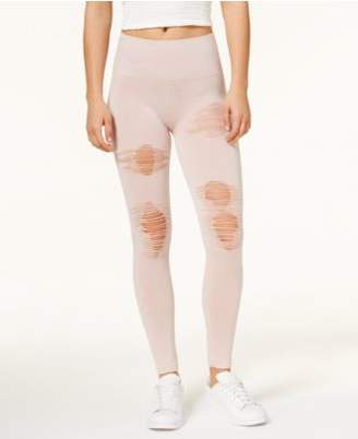 Ultra Flirt Juniors' Ripped Soft Leggings