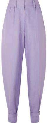 Hillier Bartley - Linen Tapered Pants - Lilac