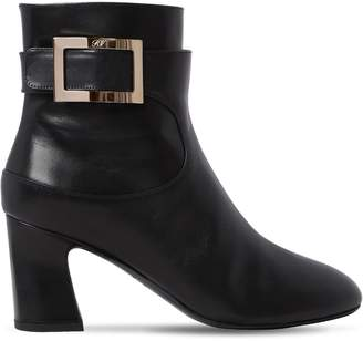 Roger Vivier 70mm Chucky Trompette Leather Boots