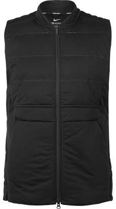Nike Aeroloft Slim-Fit Perforated Quilted Shell Golf Gilet