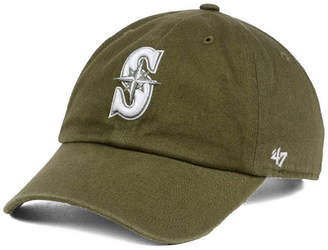 '47 Seattle Mariners Olive White Clean Up Cap