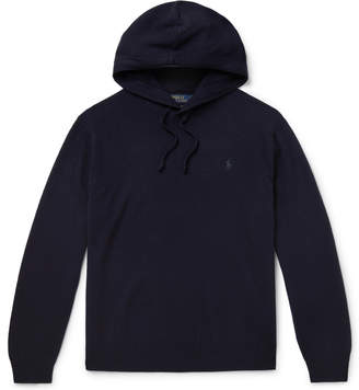 Polo Ralph Lauren Cashmere Hoodie - Men - Blue