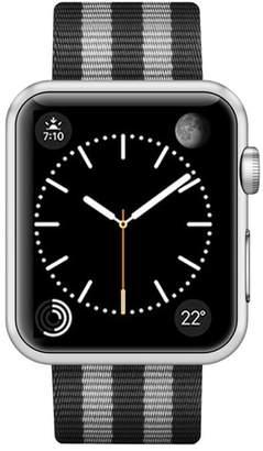 CASETIFY Striped Nylon Apple Watch Strap