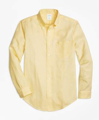 Brooks Brothers Milano Fit Irish Linen Sport Shirt