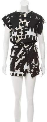 Isabel Marant Printed Shirt Dress