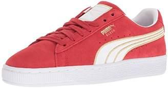 Puma Women s Suede Varsity Sneaker Black White b30477cb1