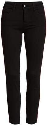 PROSPERITY DENIM Side Stripe Ankle Skinny Jeans