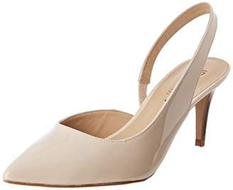 JB Martin Women's 3ALANA Wedding Shoes, Off- White (Veau Vernis Nude)