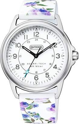 Outdoor Products (アウトドア プロダクツ) - [シチズン]腕時計 OUTDOOR PRODUCTS アウトドアプロダクツ FORISシリーズ ソーラーテック KP3-414-12 レディース