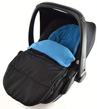 Britax Car Seat Footmuff/Cosy Toes Compatible with Baby Safe New born Car seat Ocean Blue