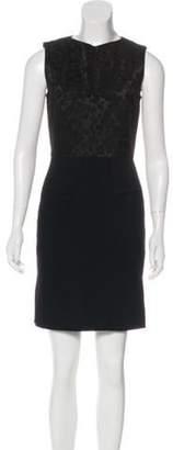 Roland Mouret Sleeveless Mini Dress Black Sleeveless Mini Dress