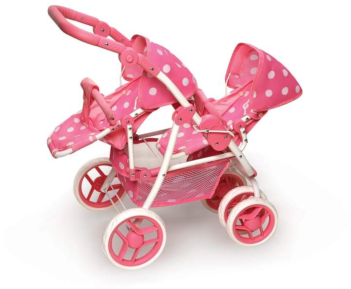 Badger Basket Badger Basket Convertible Double Doll Stroller