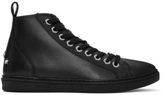 Jimmy Choo Black Colt Sneakers