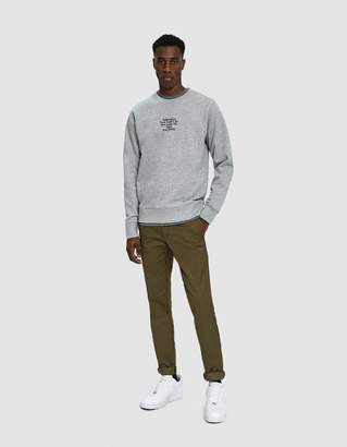 Saturdays NYC Bowery Gotham Black Sweatshirt