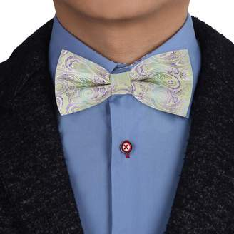 3d6c04895960 EBDB0122 Dark Blue Orange Patterned Bow Ties Microfiber Creative For Dad Pre -tied Bow Tie