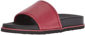 Calvin Klein Men's MACKEE Tumbled Brushed SMTH Slide Sandal