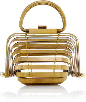 Cult Gaia Mini Metal Lilleth Bag