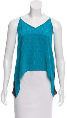 Mason Printed Silk Top