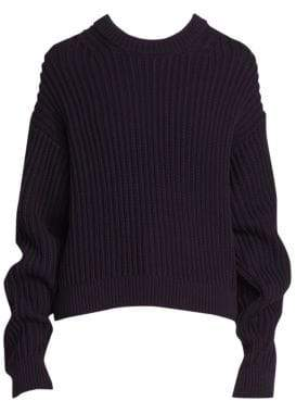 Acne Studios Kassie Rib-Knit Sweater