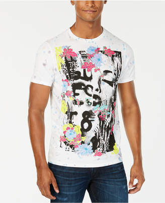 GUESS Men Punk Collage Graphic T-Shirt