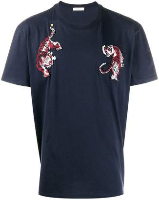 Valentino tiger embroidered T-shirt