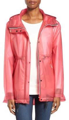 Women's Hunter 'Original Smock' Hooded Drawstring Waterproof Jacket $149.90 thestylecure.com