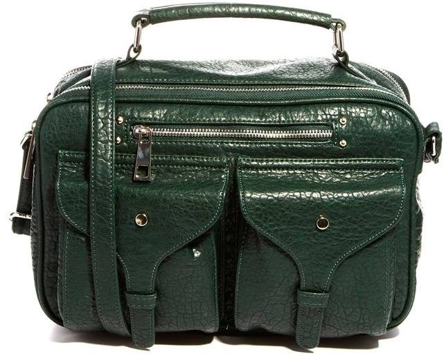 Asos Casual Bowler Bag With Front Zip