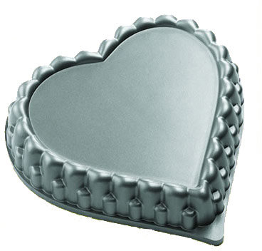 Kaiser Nonstick Heart Flan Pan