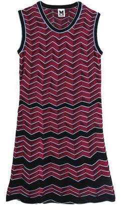 M Missoni Cotton-Blend Crochet-Knit Mini Dress