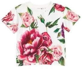 Dolce & Gabbana Baby Girl's Floral T-Shirt