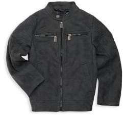 Urban Republic Little Boy's Quilted-Sleeve Jacket