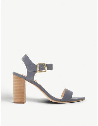 Dune Isobel leather heeled sandals