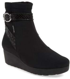 Mephisto 'Tyba' Waterproof Wedge Bootie