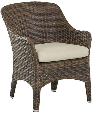 Pottery Barn Abrego All-Weather Wicker Dining Side Chair - Set of 2